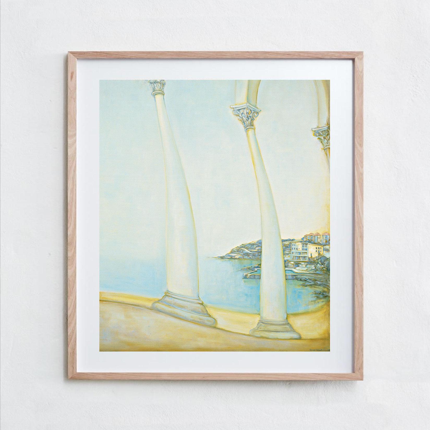The Icebergs Club  Oil Paint, Canvas