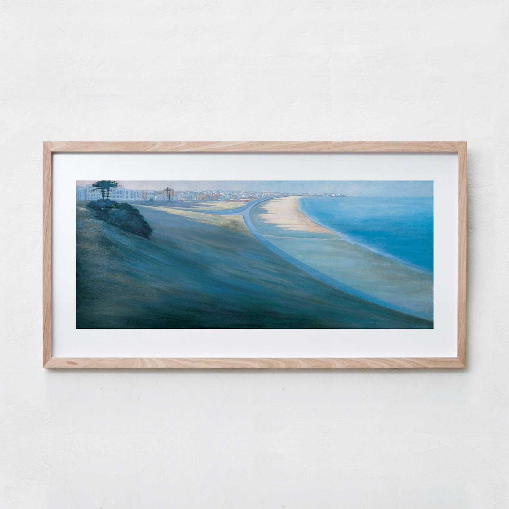 Bondi Beach  Acrylic Paint, Canvas