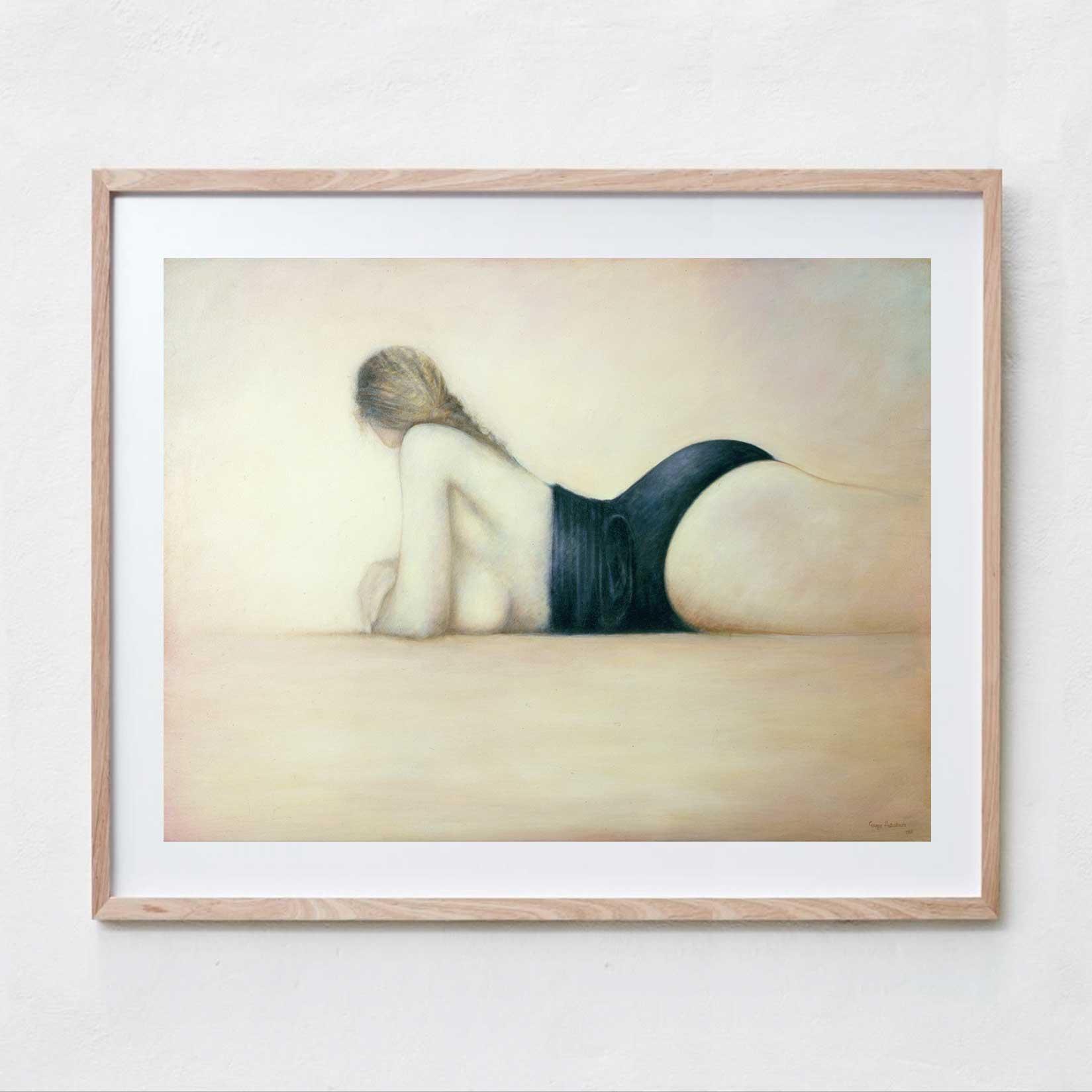 The Bather  Oil Paint, Canvas