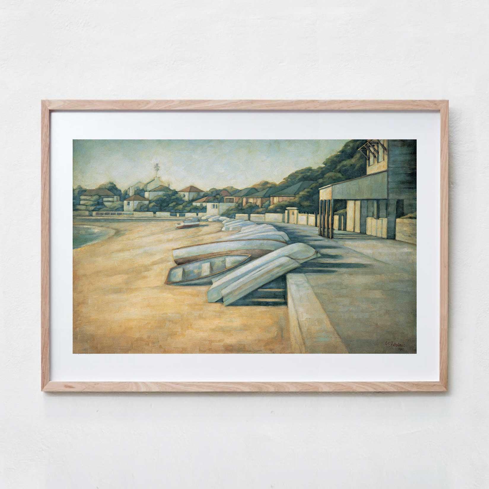Watson's Bay  Oil Paint, Canvas