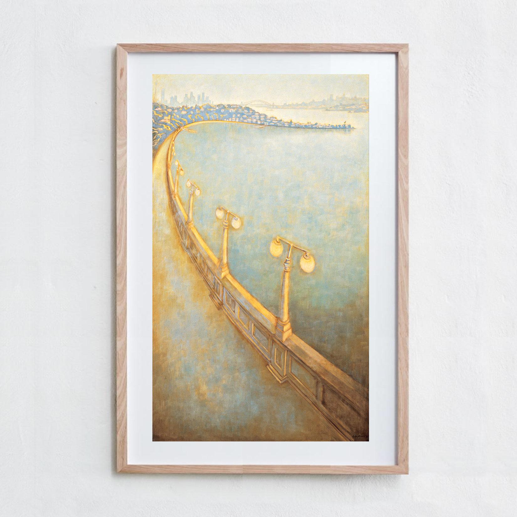 Rose Bay  Oil Paint, Canvas