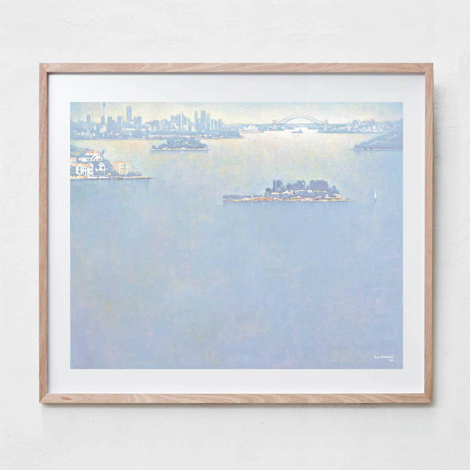Sydney Harbour  Oil Paint, Canvas