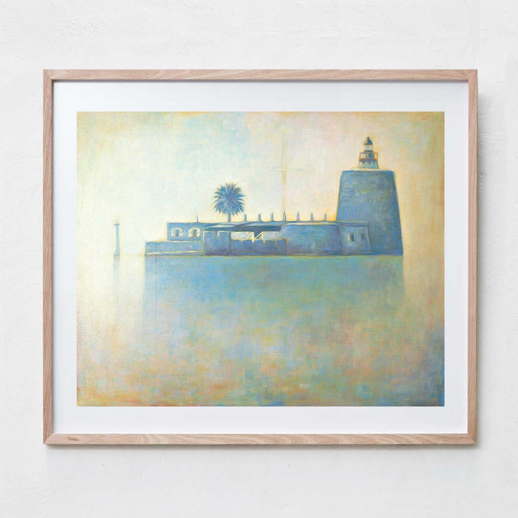 Fort Denison  Oil Paint, Canvas