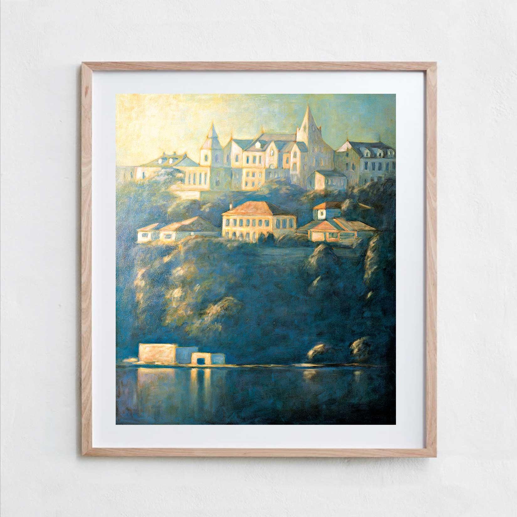 Kincoppal  Oil Paint, Canvas