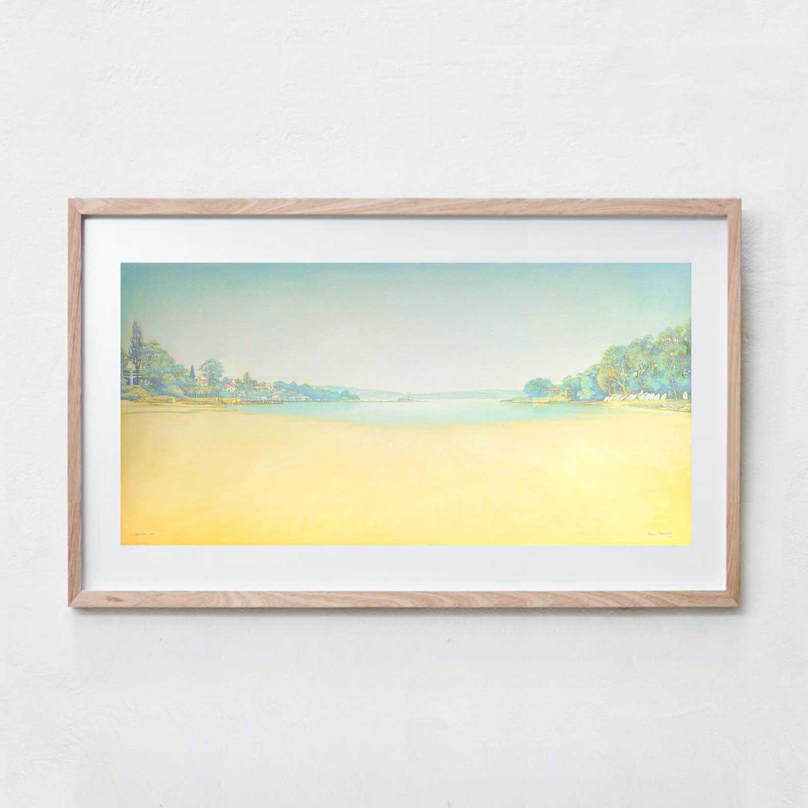 Vaucluse Bay  Oil Paint, Canvas