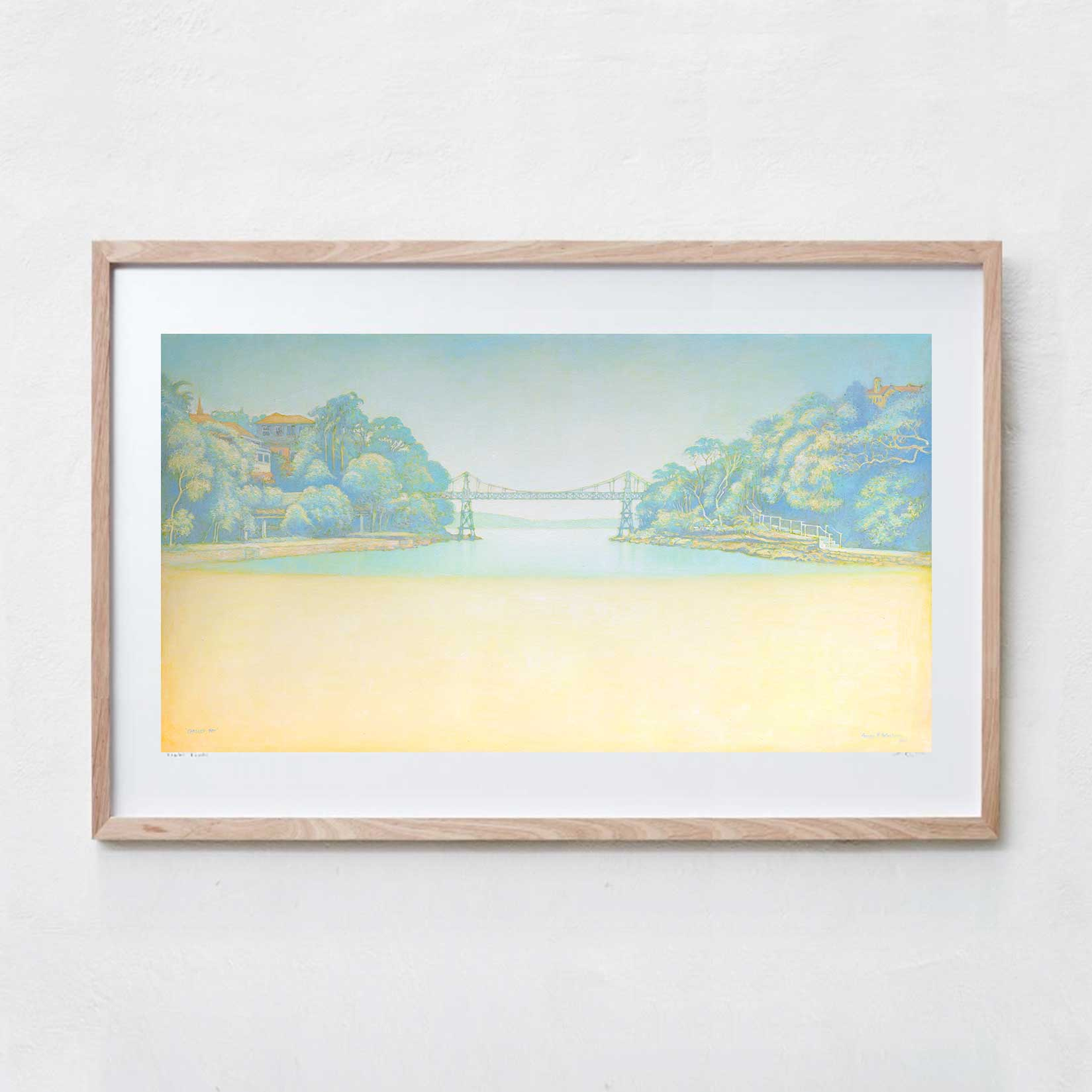 Parsley bay  Oil Paint, Canvas