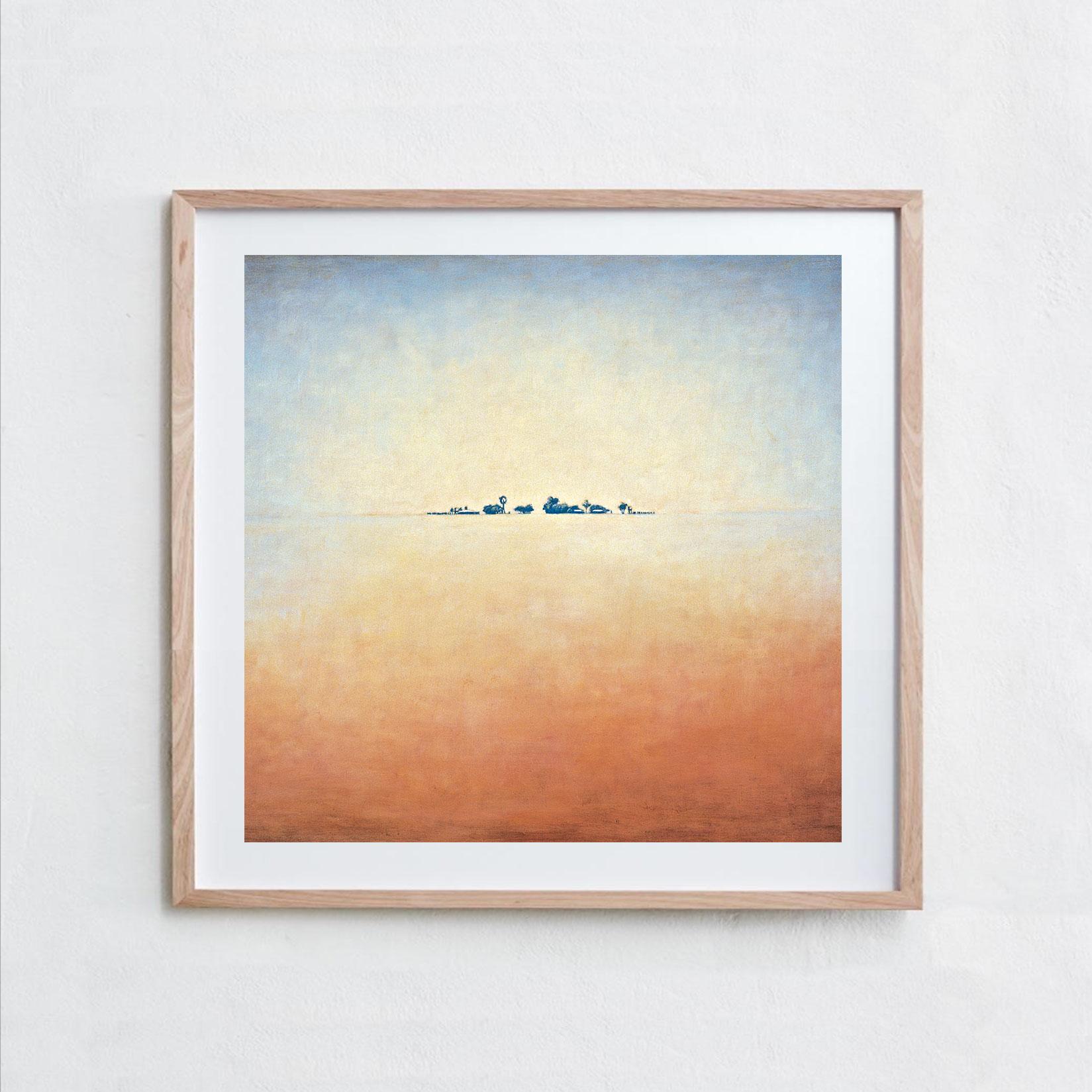 Mount Ebenzer  Oil Paint, Canvas