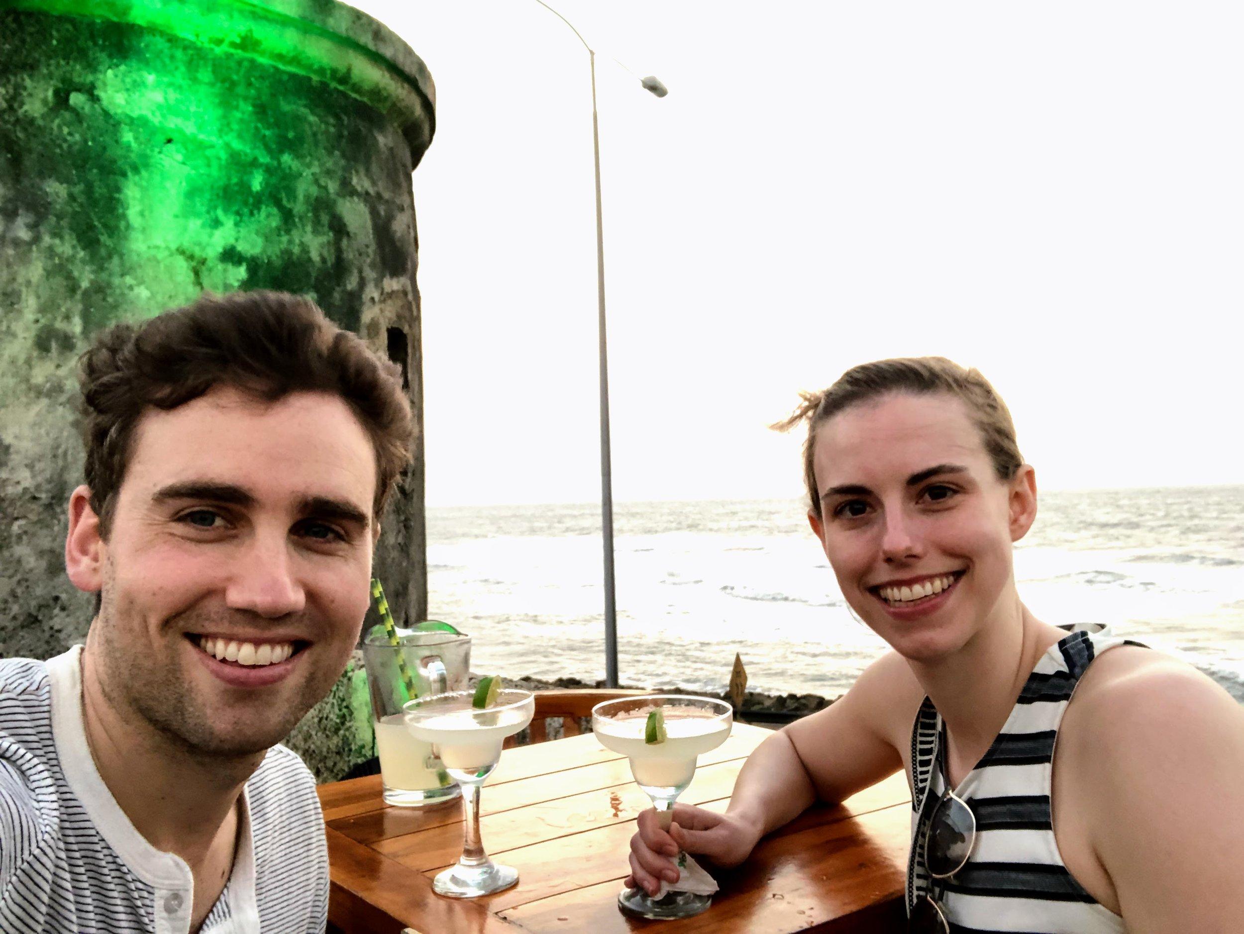 Bugs, margaritas and the ocean