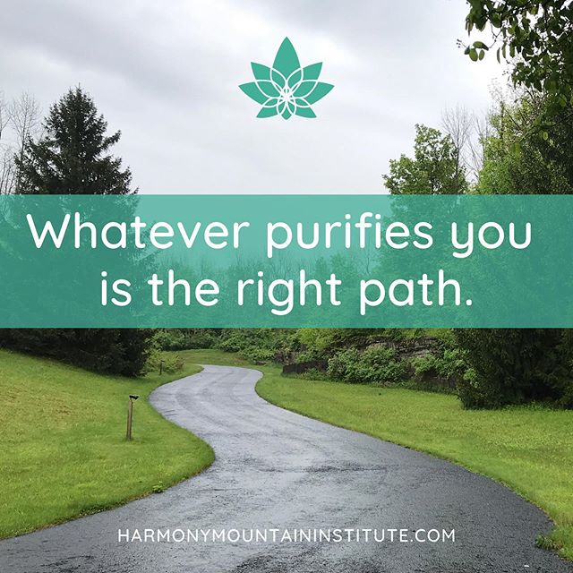 Do you feel refreshed by the thought of something new? Trust your intuition and follow it. 🛵  The road may look gloomy, but trusting in an outcome that's in your best interest will carry you through! 💦  If your path leads you to Harmony Mountain, Call now to learn more about our wellness retreats!