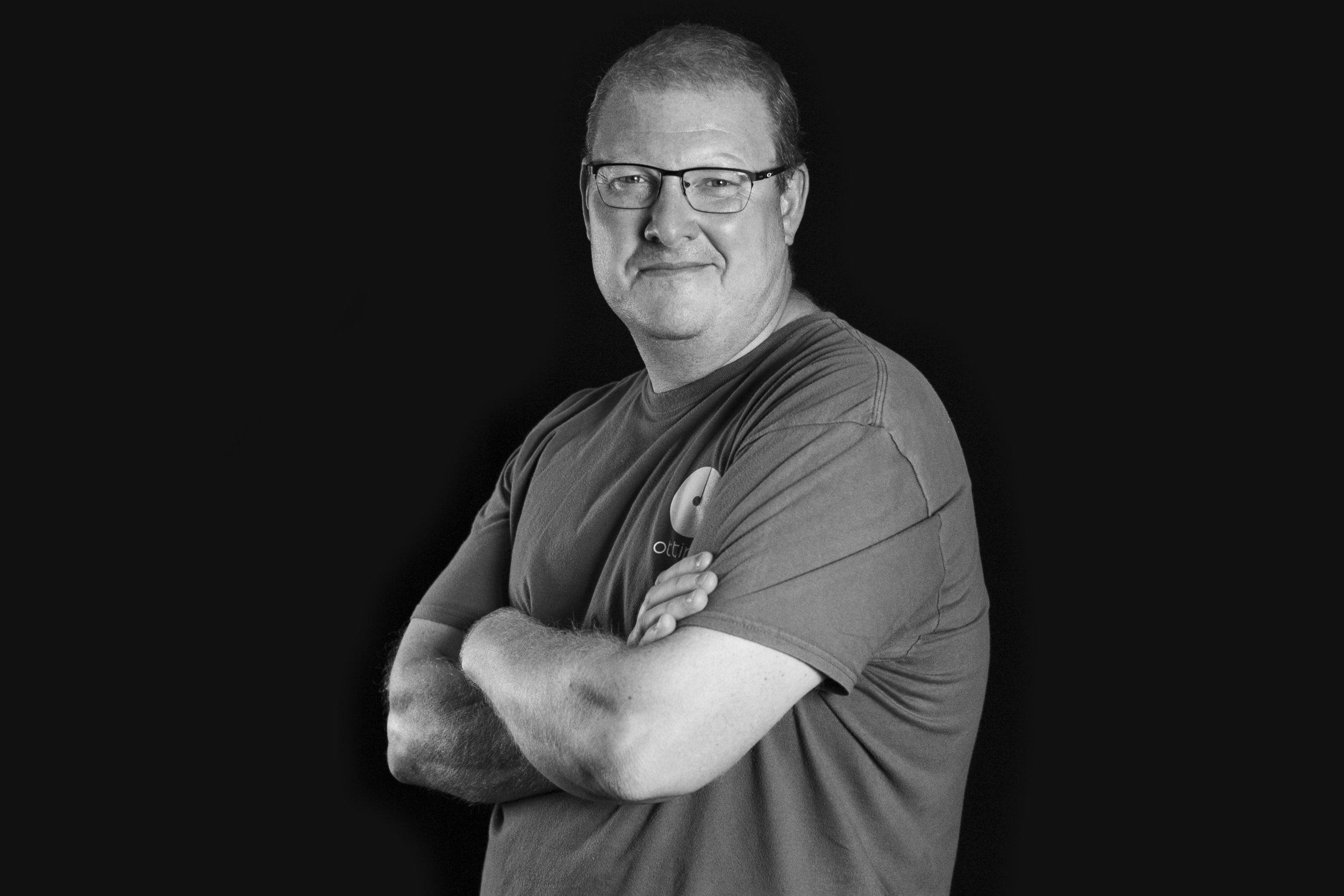 Mark English  Exhibition Manager