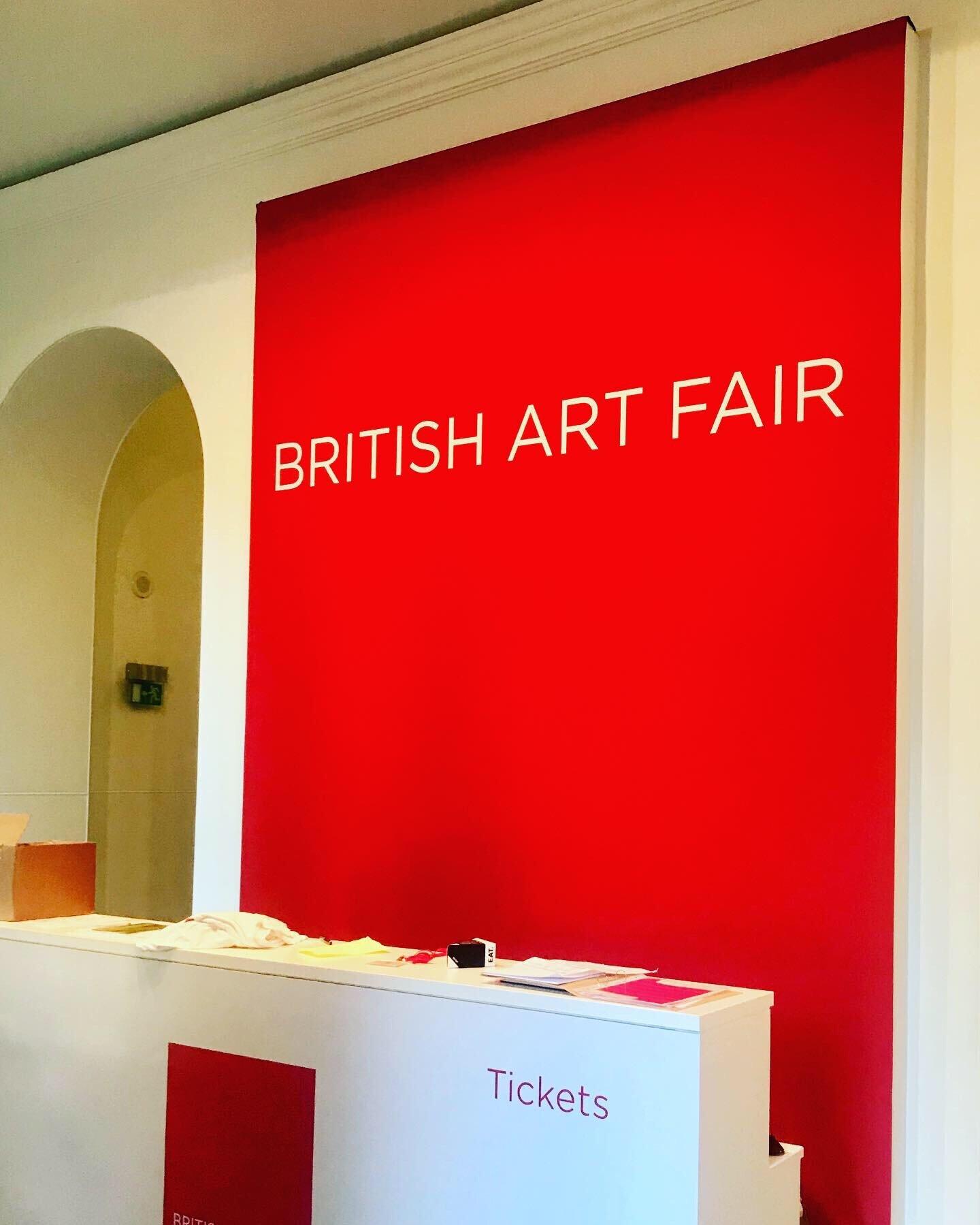 Ottimo at the British Art fair 2019