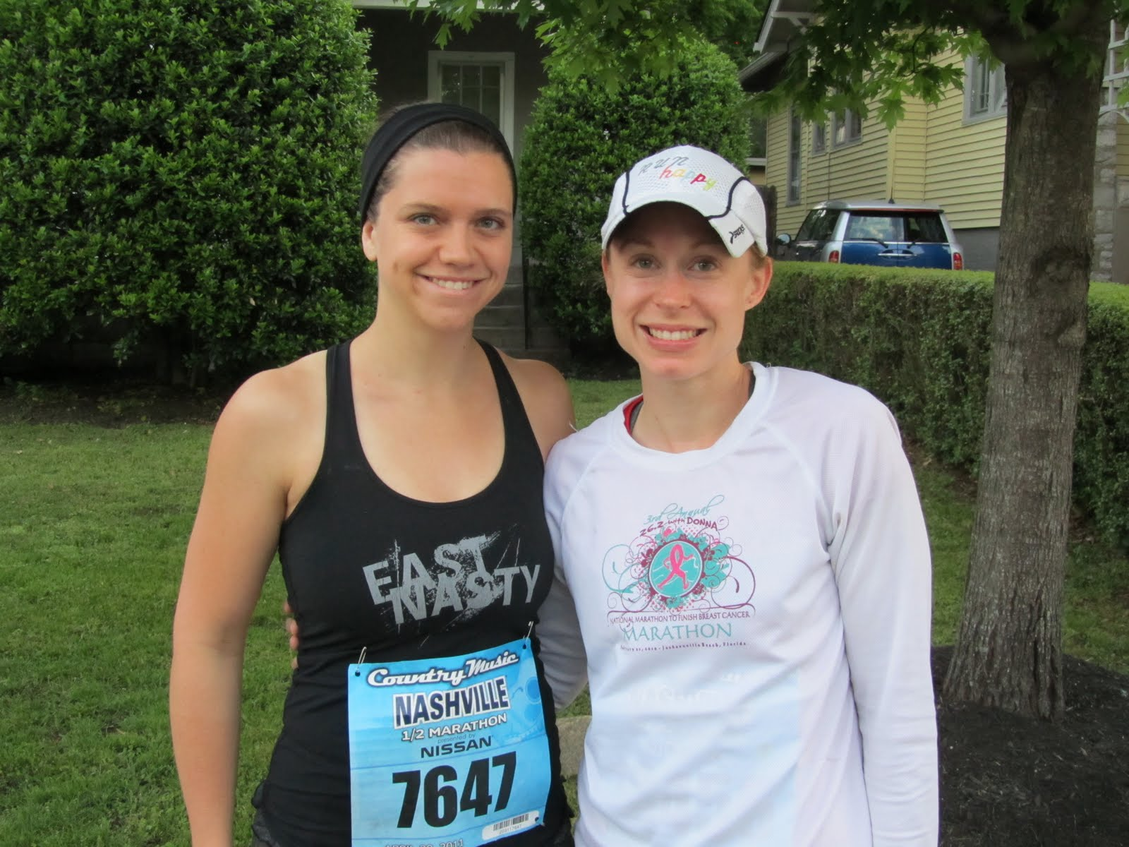 Laura V and Sister in Law Pre-Race 2011