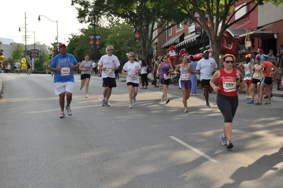 2012 Cinco de Mayo Run with Rob