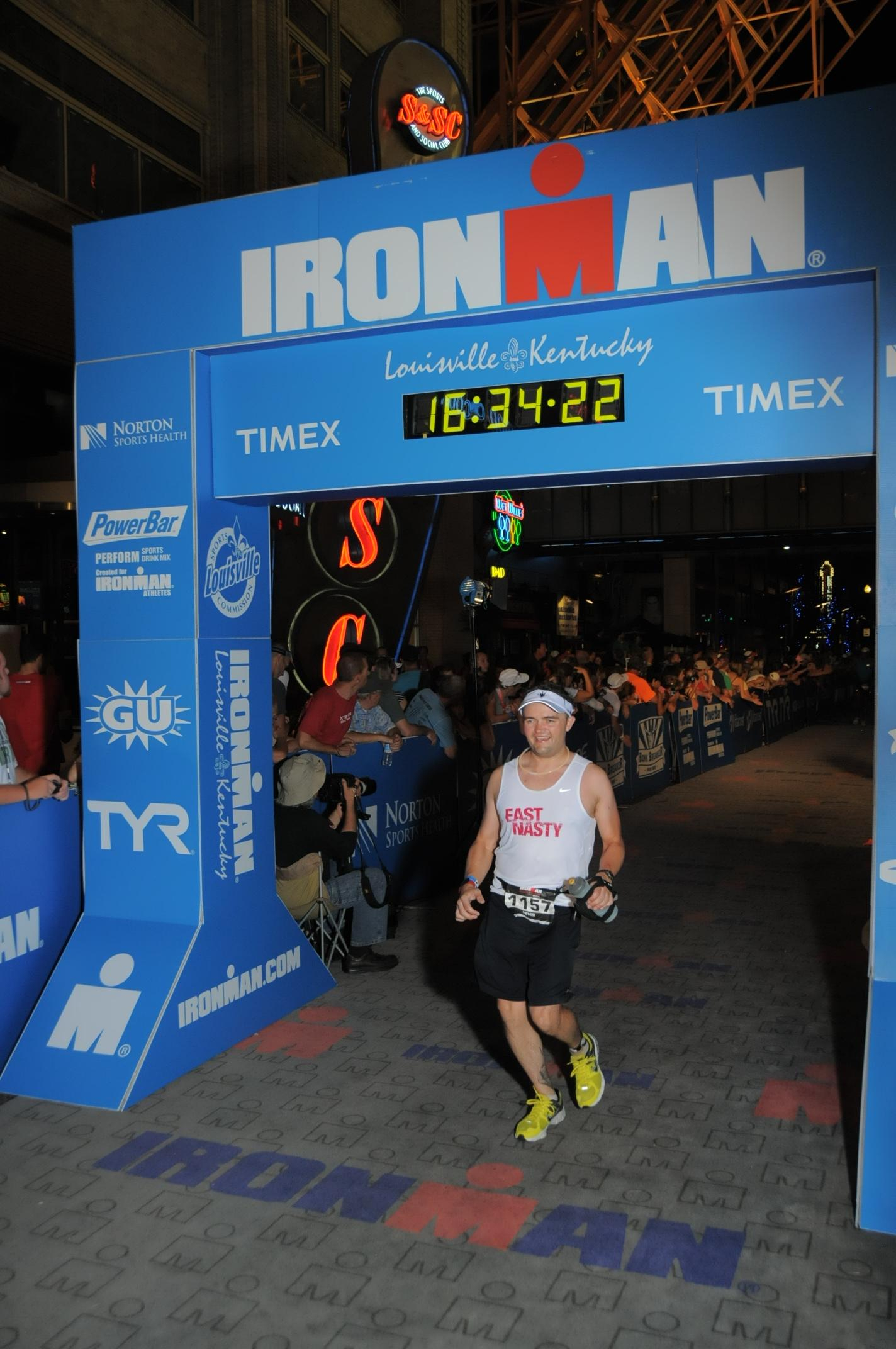 Ironman Louisville finish