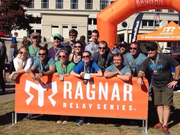 Ragnar relay team 2012