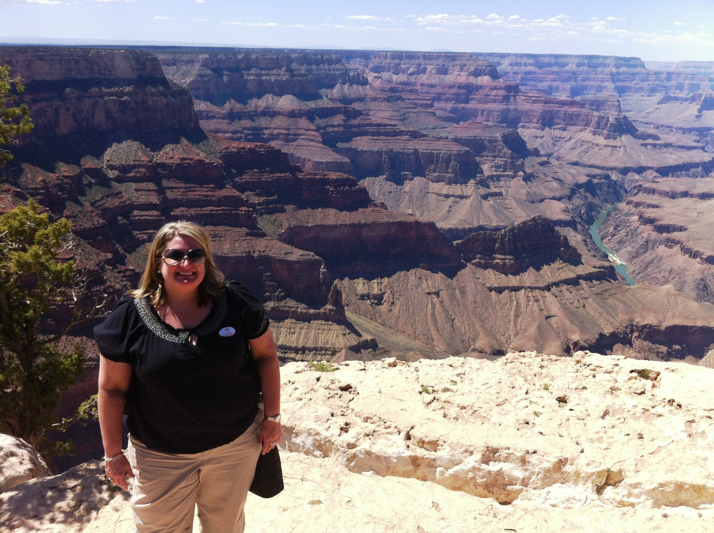 Traveling in 2012 - at the Grand Canyon