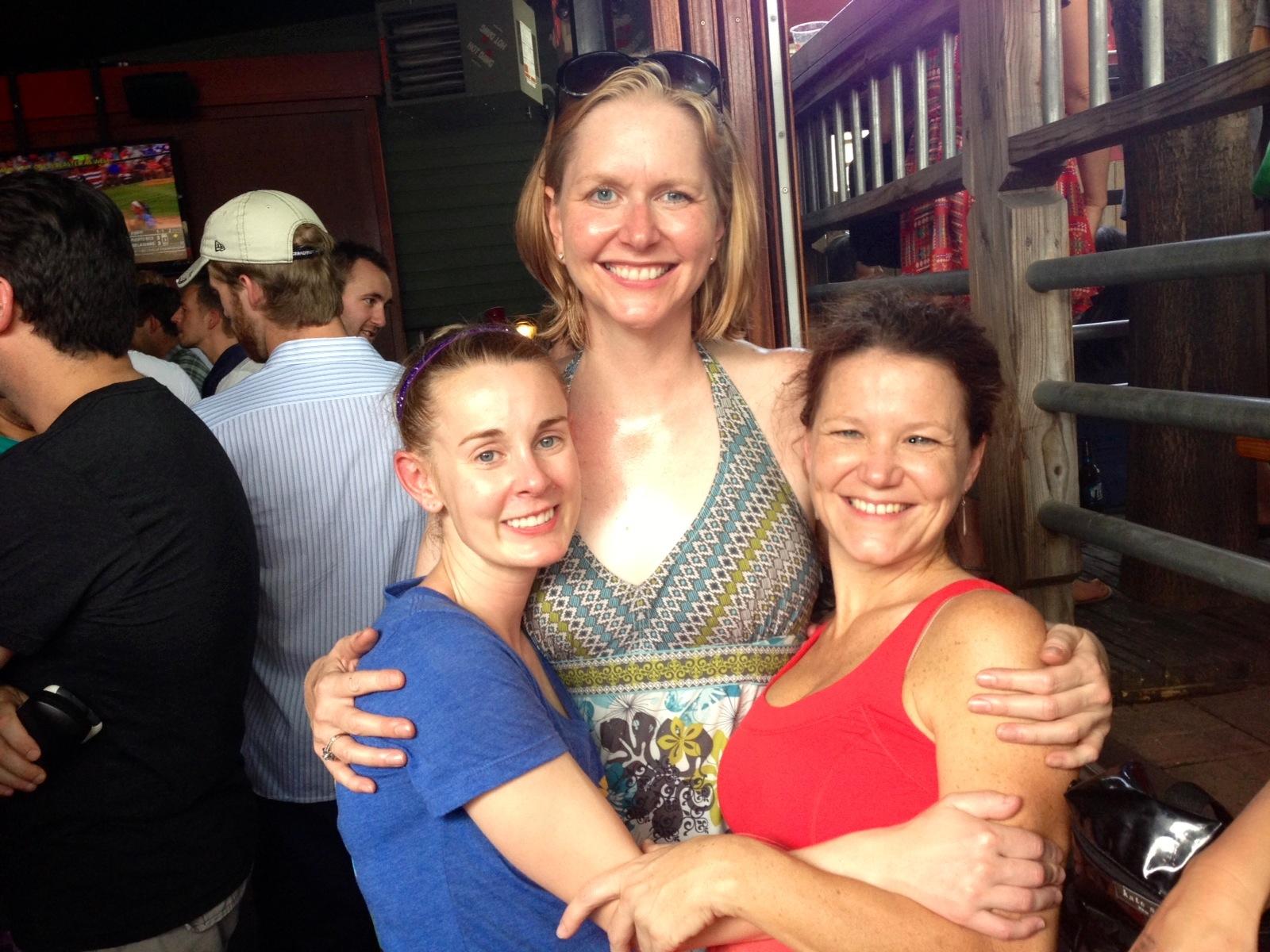 Lana with Vanessa & Stephanie Tomato Fest, 2013