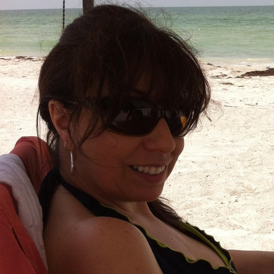 """Relaxing at the beach in Florida – soon after heart surgery!"""