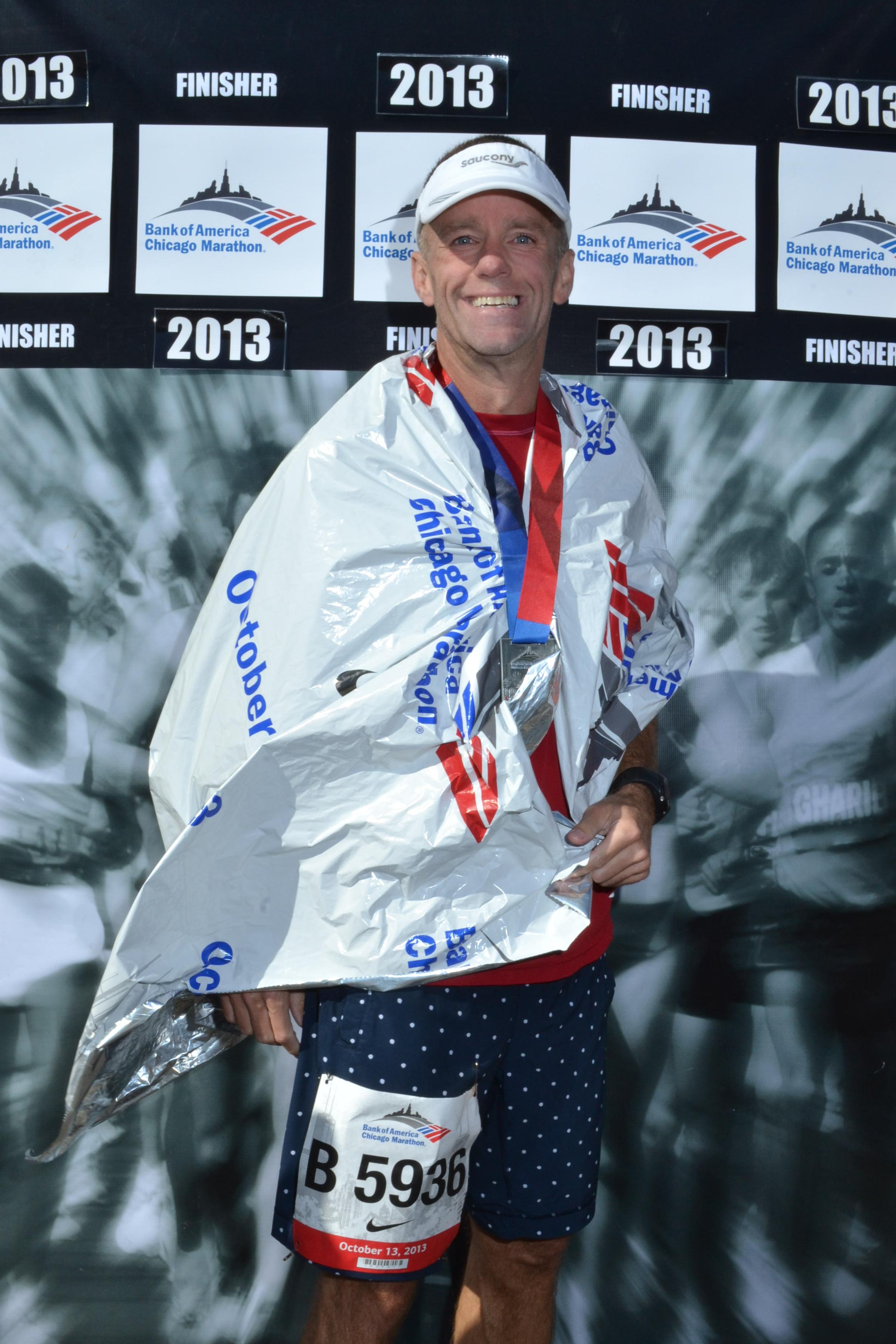 2013 Bank of America Chicago Marathon (3:10:17 BQ)