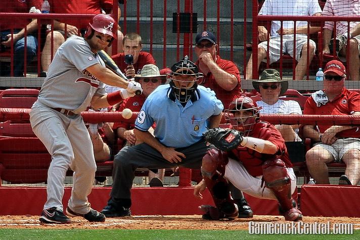 Umpiring baseball at South Carolina in 2012
