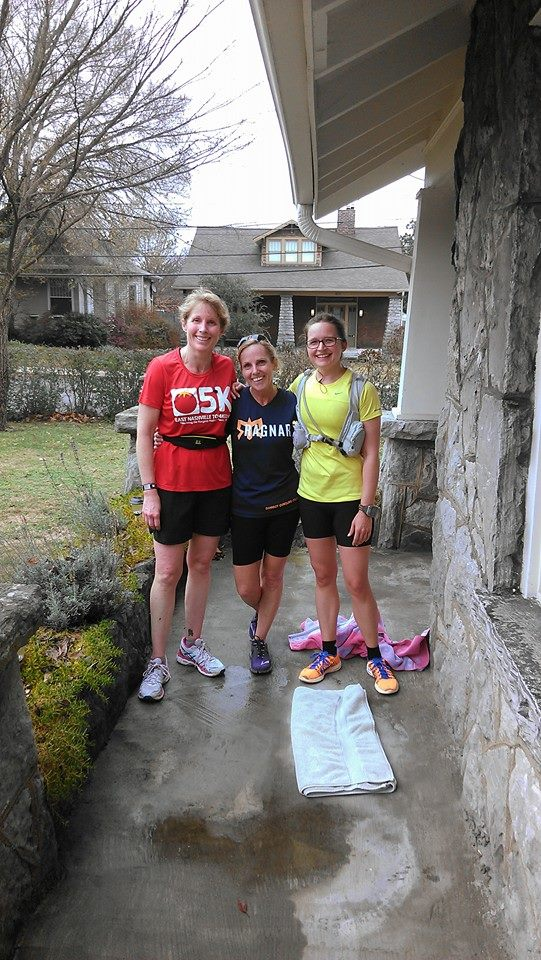 Last long training run before St. Jude Marathon.