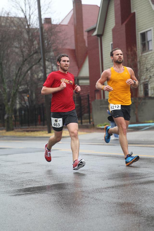 2013 Huntsville Marathon with Jackson Dugger.