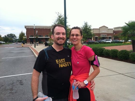 With Jeremy at Charity Run, 2013