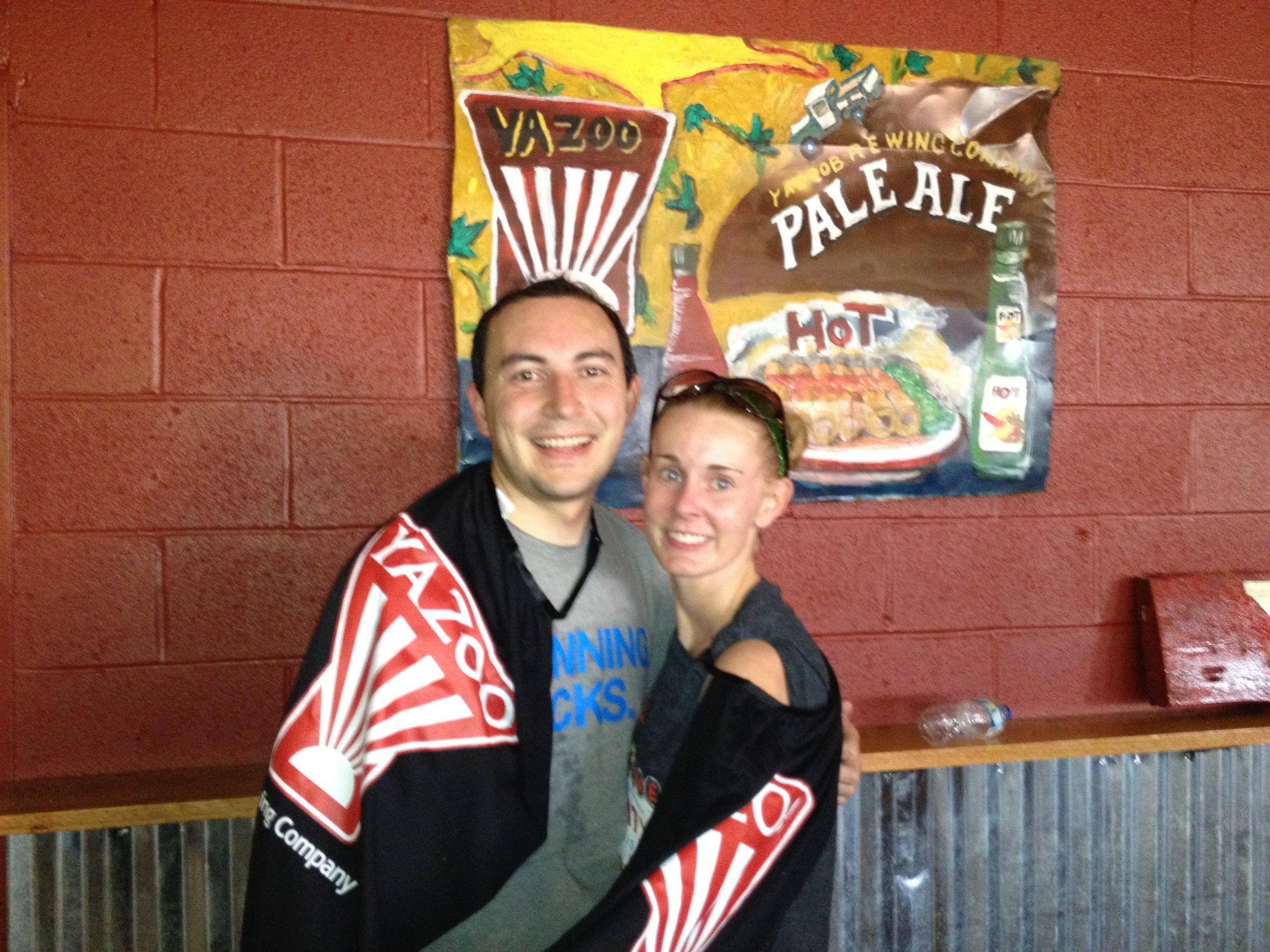 Josh & Vanessa at a Yazoo Barely a 4k 2012