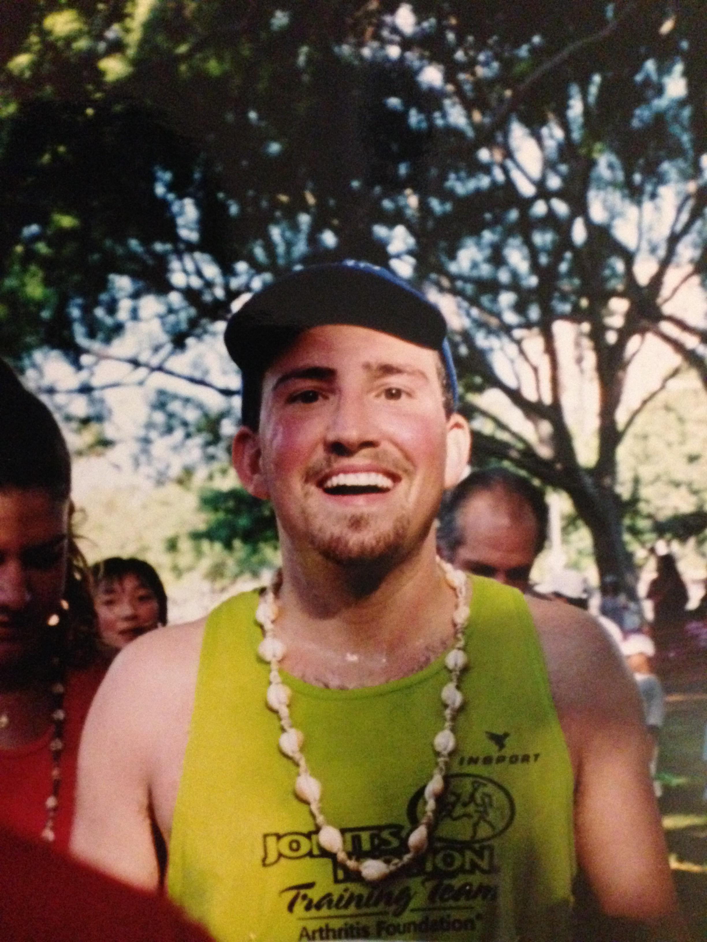 Honolulu Marathon Finisher, 2003