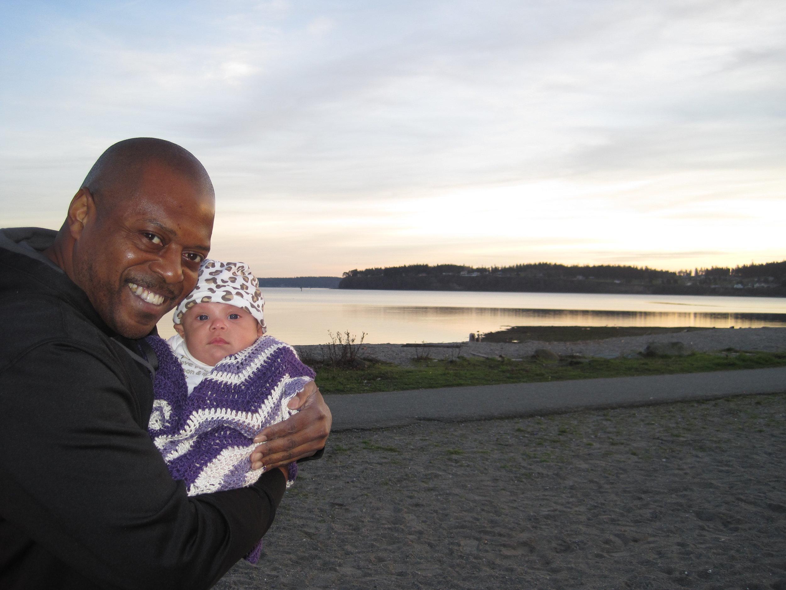 Ralph and his beautiful daughter, Annika