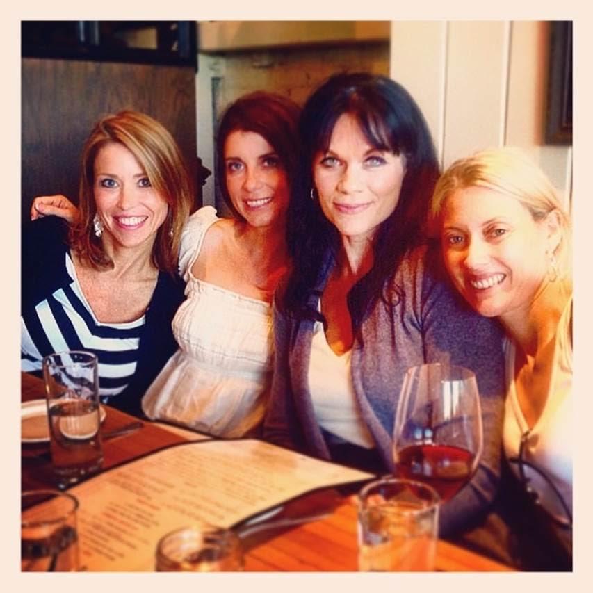 Sonoma: Michelle, Jen, me, Rebekah, wine, we clean up nicely!