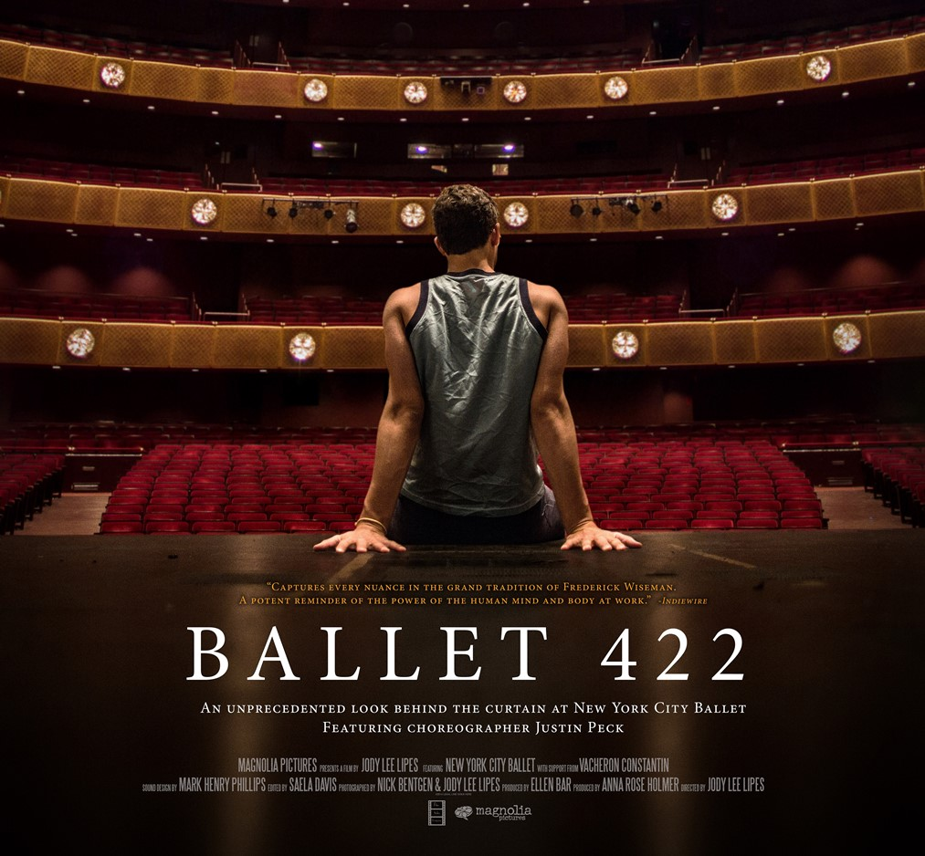 (2014) From first rehearsal to world premiere, Ballet 422 takes us backstage at New York City Ballet as emerging choreographer Justin Peck crafts a new work. -