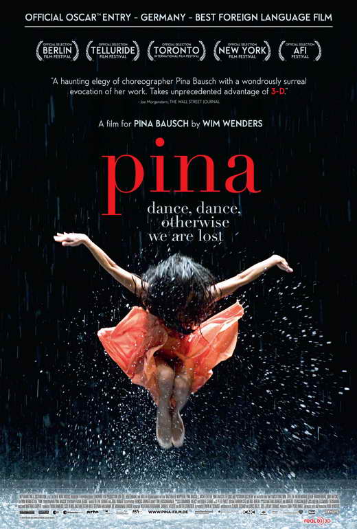 (2011) A tribute to the late German choreographer, Pina Bausch, as her dancers perform her most famous creations. -