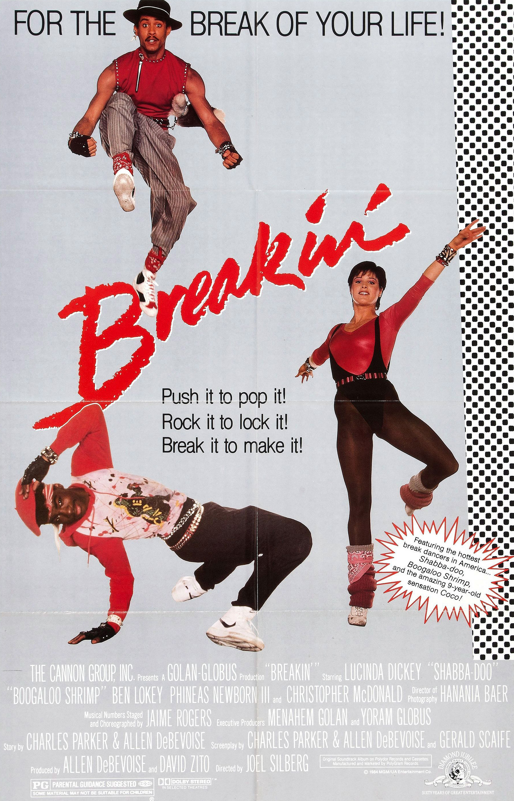 (1984) A struggling jazz dancer meets up with two break-dancers and become a sensation! -