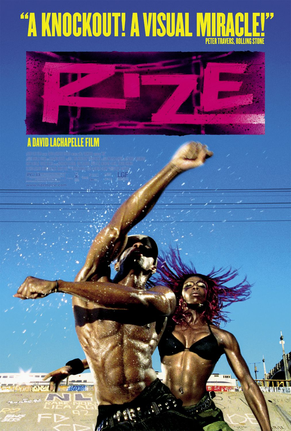 (2005) Rize chronicles a dance movement that rises out of South Central Los Angeles. -