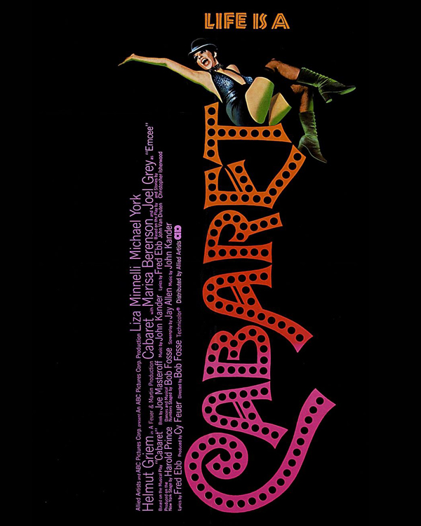 (1972) An entertainer in Weimar Republic era Berlin romances two men while the Nazi Party rises. -