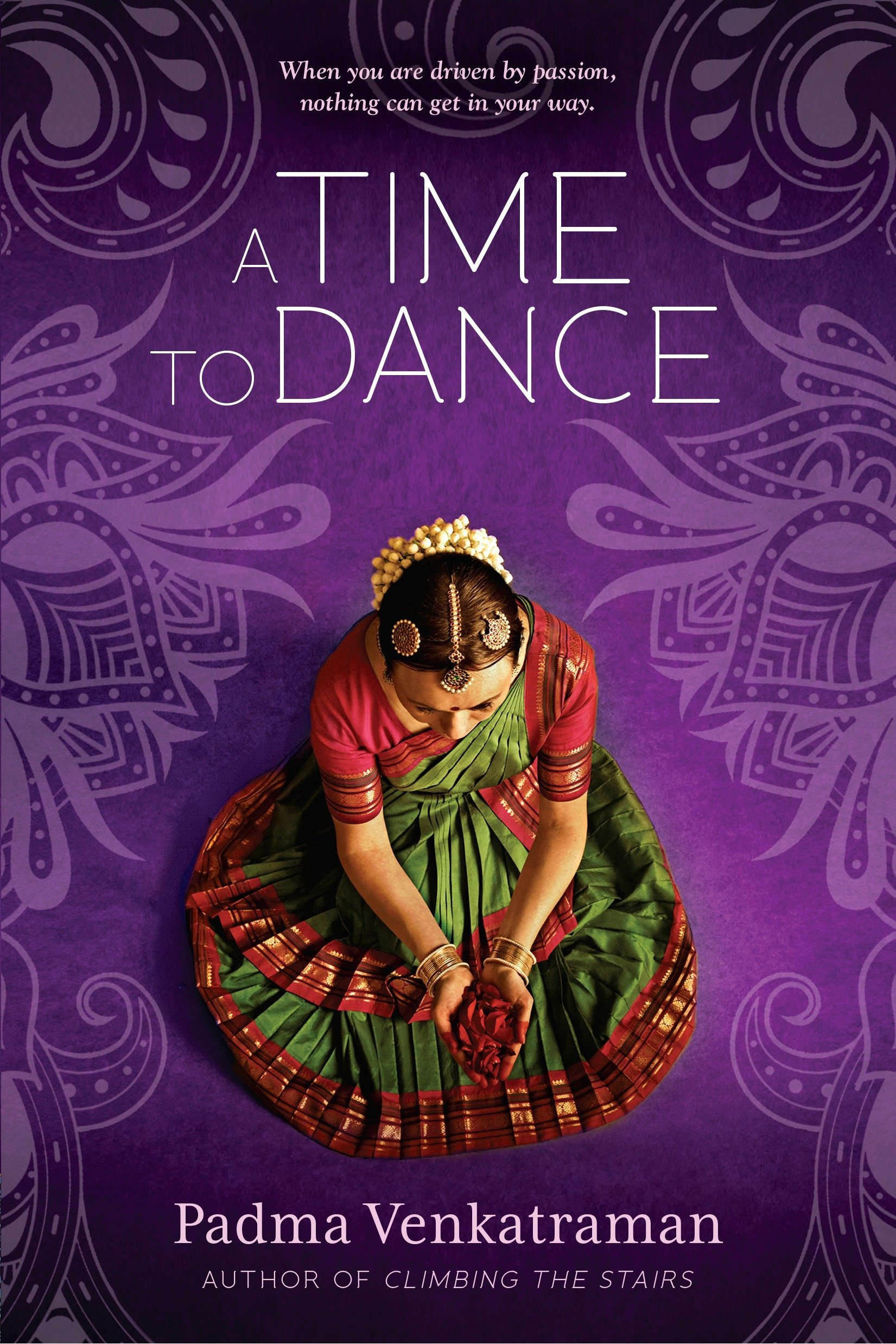 (2015) Padma Venkatraman's inspiring story of a young girl's struggle to regain her passion and find a new peace is told lyrically through verse that captures the beauty and mystery of India and the ancient bharatanatyam dance form. This is a stunning novel about spiritual awakening, the power of art, and above all, the courage and resilience of the human spirit. -
