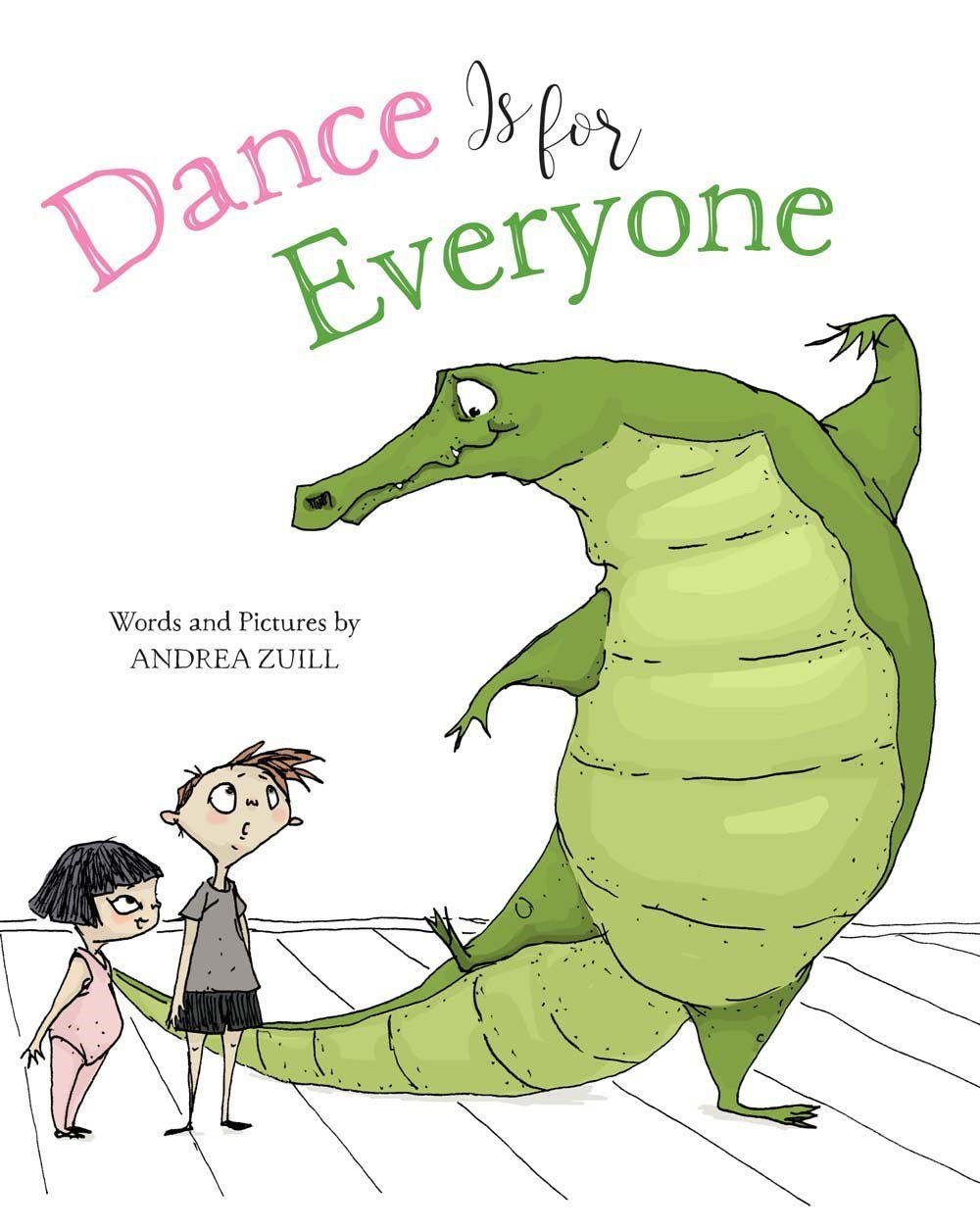(2017An alligator takes over the barre in Mrs. Iraina's dance class! -