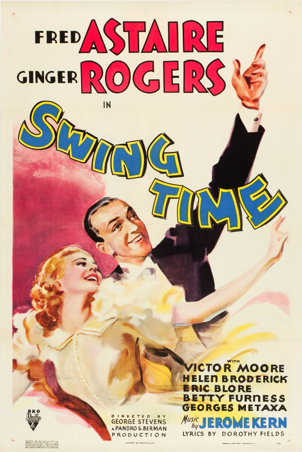 (1936) A performer and gambler travels to New York City to raise the $25,000 he needs to marry his fiancée, only to become entangled with a beautiful aspiring dancer. -