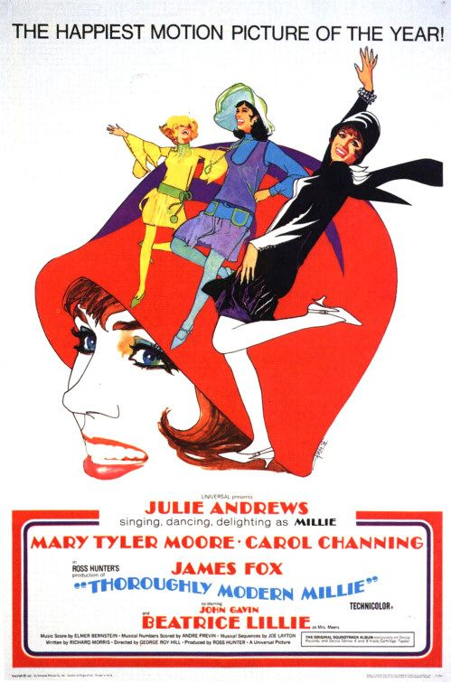 (1967) Millie comes to town in the roaring twenties to encounter flappers, sexuality and white slavers. -