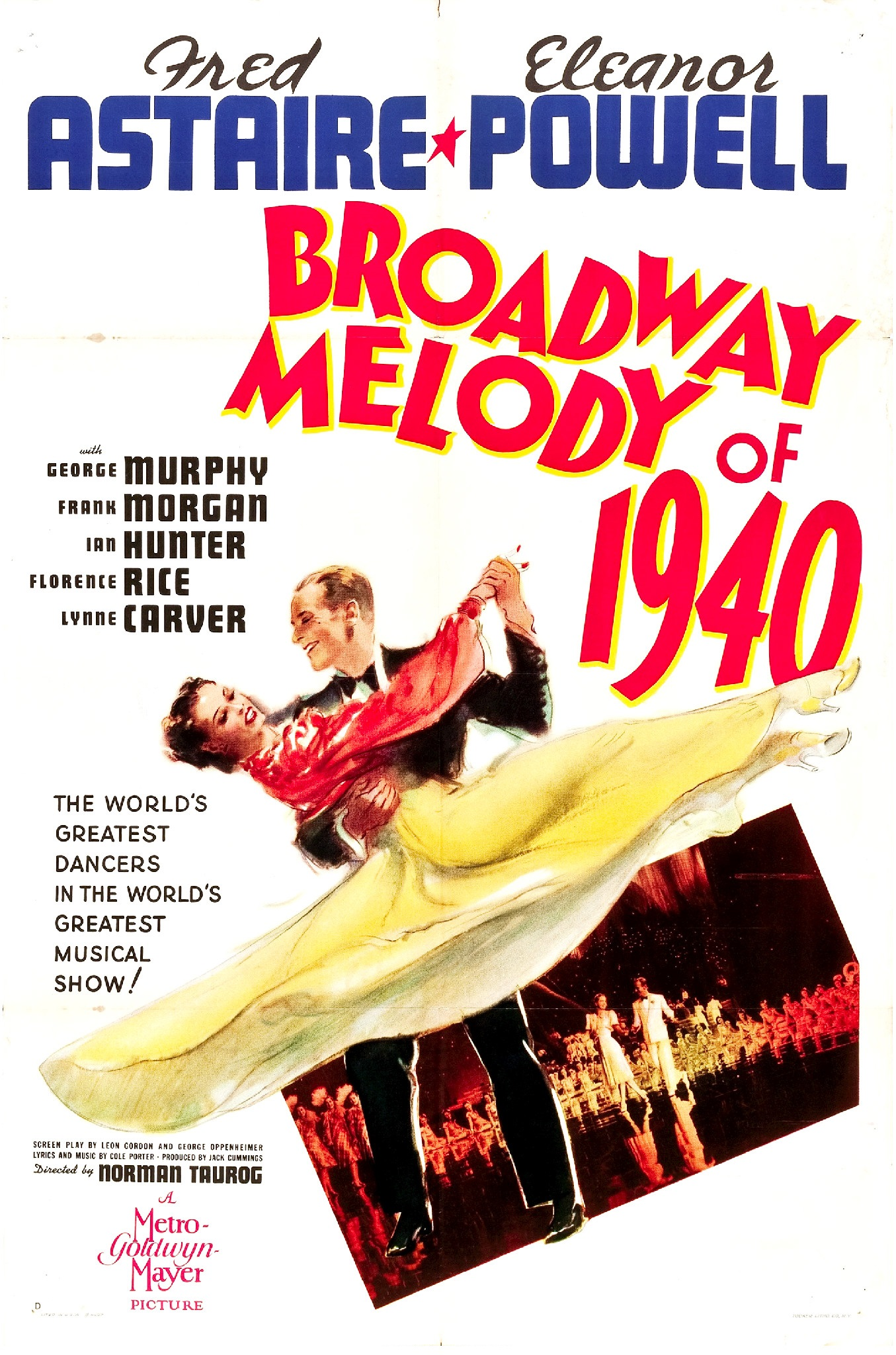 (1940Johnny Brett and King Shaw are an unsuccessful dance team in New York. A producer discovers Brett as the new partner for Clare Bennett, but Brett, who thinks he is one of the people they lent money to gives him the name of his partner. -
