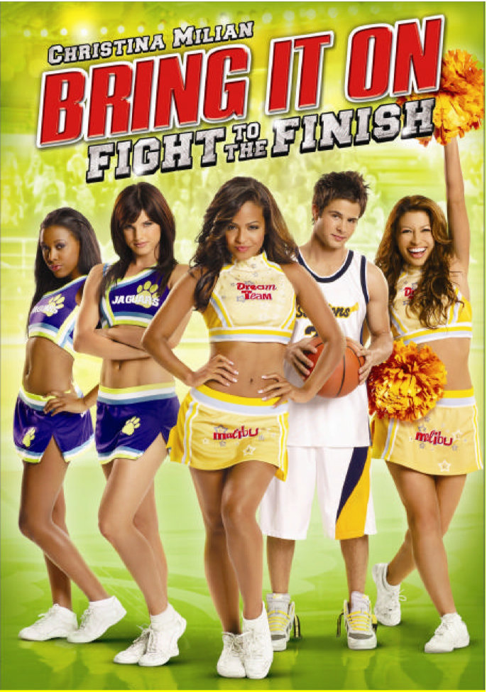 (2009) Lina Cruz is a tough, sharp-witted Latina cheerleader from East L.A. who transfers to a posh, West Los Angeles high school after her widowed mother remarries a wealthy man. Lina struggles to fit in and has to face off against Avery, the snobbish and ultra-competitive all-star cheer-leading captain, to qualify for a spot on her new school's cheer-leading team. -