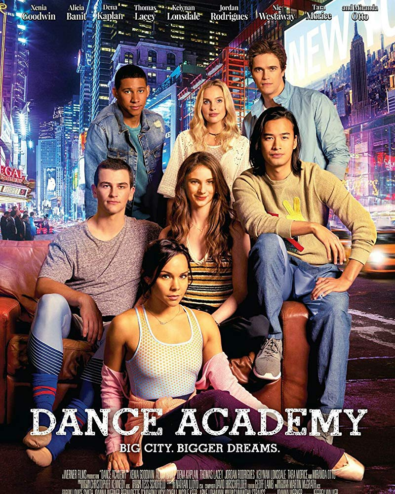 (2017) This movie follows the original dance academy TV show and tracks where the characters are in their lives now. -