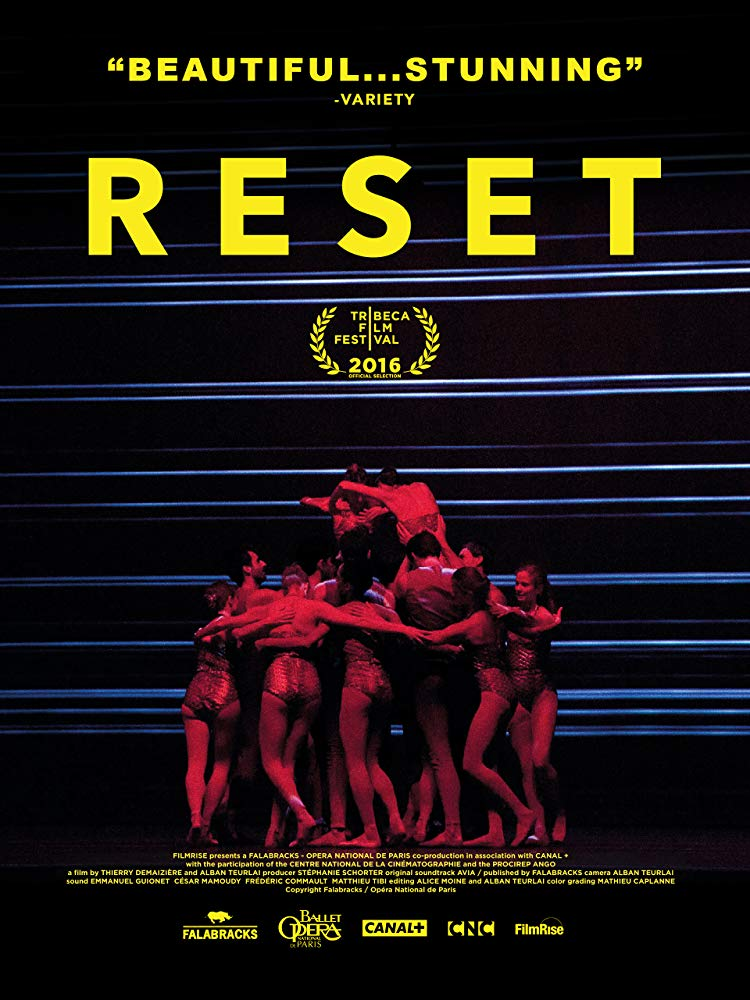 (2015) Reset documents the creation Benjamin Millepied's first ballet as Artistic Director of the Paris Opera Ballet, the oldest national ballet company in the world, and one of the most prestigious. The appointment of Millepied, best-known for his choreography for the film