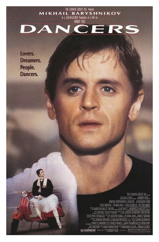 (1987) A Russian ballet superstar (Mikhail Baryshnikov) woos an American ingenue while filming a performance of