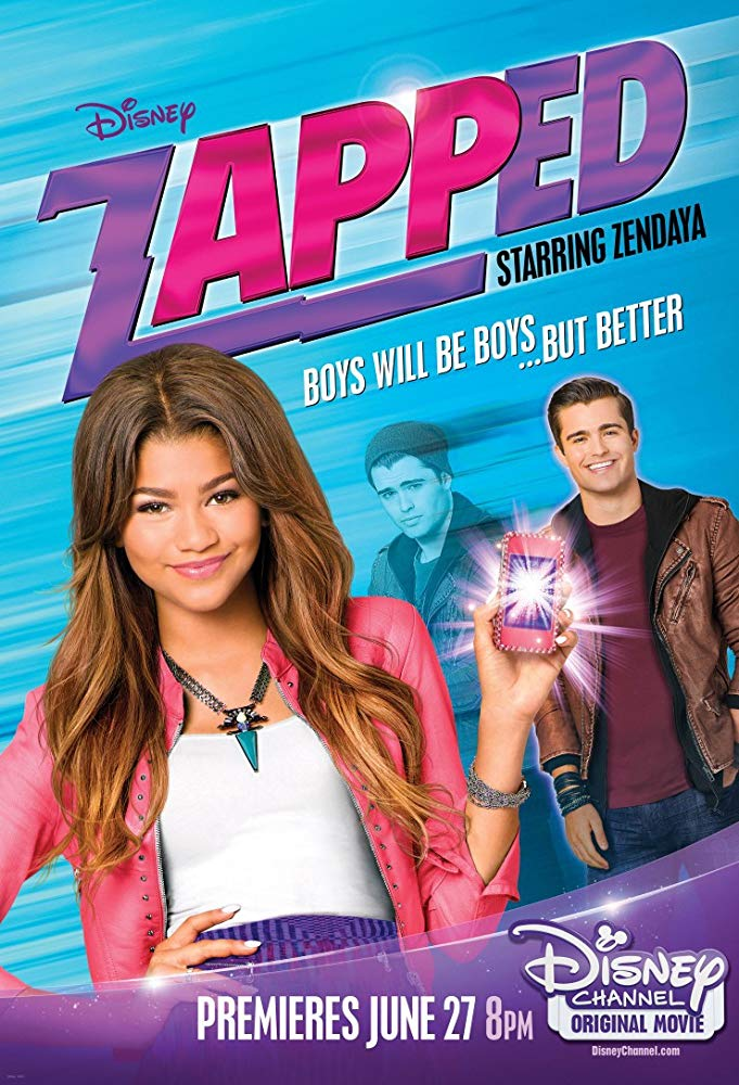 (2014) A bright student and talented dancer struggling with changes in life, including a new family and school, finds a phone app that magically allows her to control boys. -