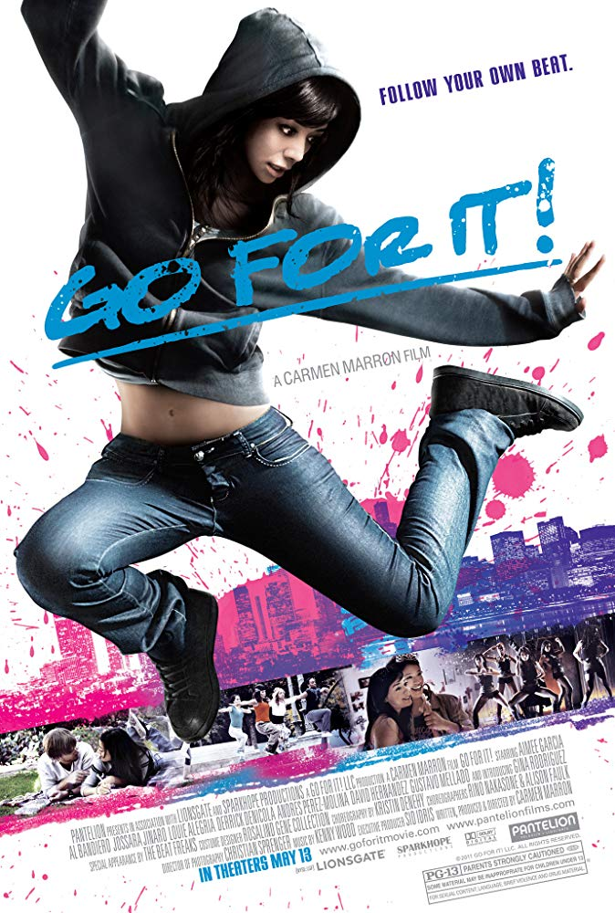 (2011) A Mexican-American teen (Aimee Garcia) in Chicago struggles with her family's expectations for her and her own desire to become a dancer. -
