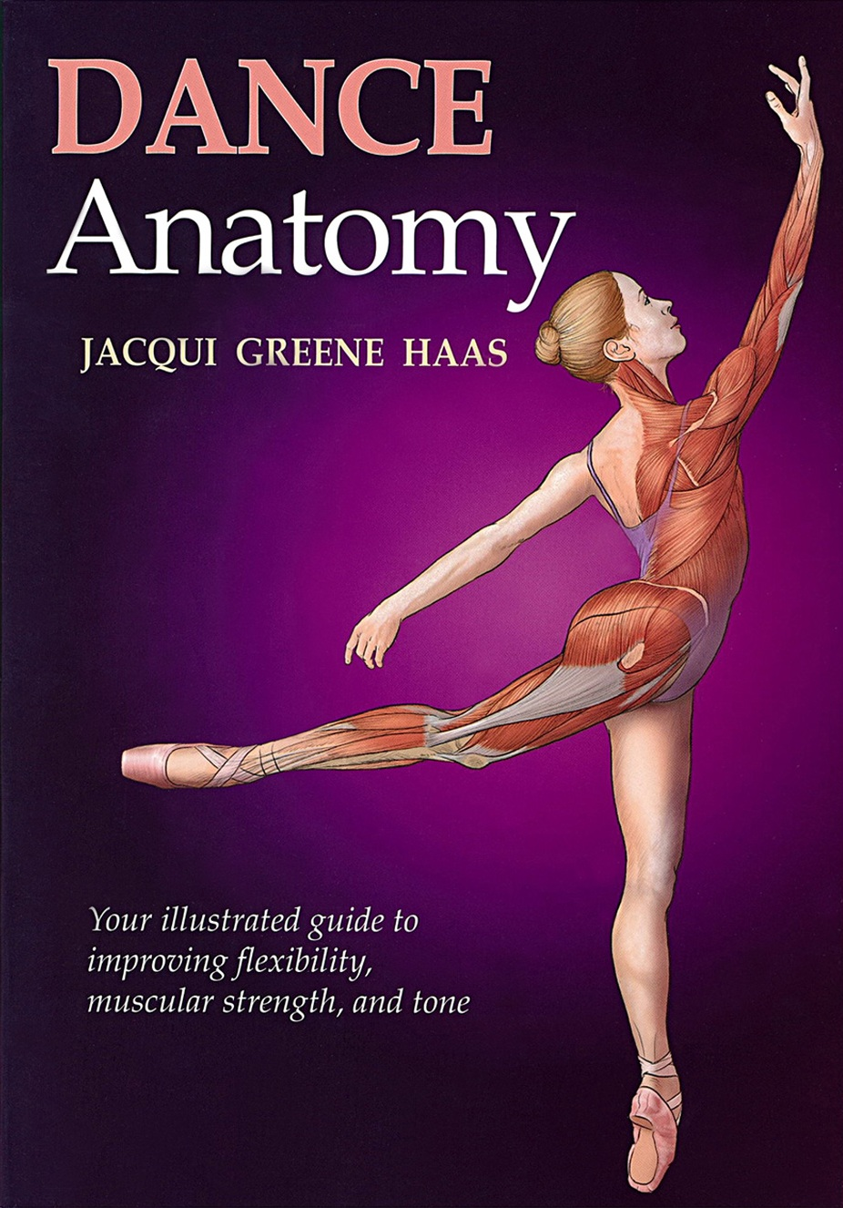 (2010) Featuring over 200 full-color illustrations, Dance Anatomy visually depicts the unique relationship between muscle development and aesthetic movement as never before. -