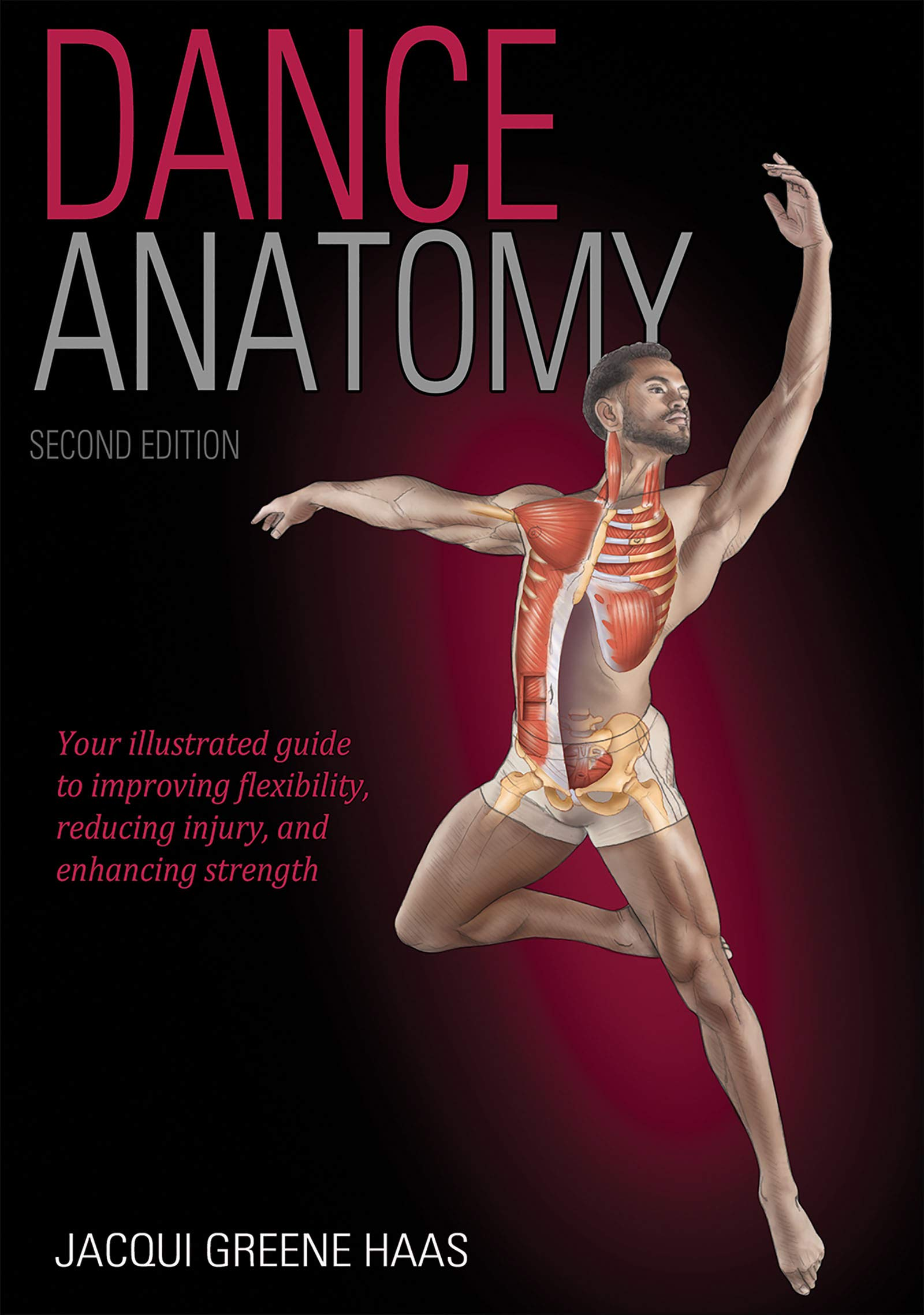 (2017) Featuring hundreds of full-color illustrations, Dance Anatomy presents more than 100 of the most effective dance, movement, and performance exercises, each designed to promote correct alignment, improved placement, proper breathing, and prevention of common injuries. -