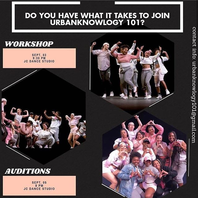 #DMV dancers Urbanknowlogy 101 is hosting a FREE workshop TOMORROW, Sep 3rd 9:30pm in the JC Studio! Dance experience is not required. ♾ #dailydosedance #dmv #va #dance #class #hiphop support the #community  www.dailydosedance.com/events
